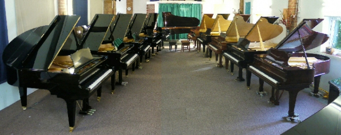New comprehensive piano display