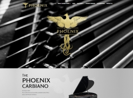 New Phoenix Pianos Website