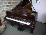 *SOLD* Burled Walnut  Bluthner Grand, Circa 1916 for sale UK