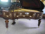 Bechstein 190cms  for sale UK, Circa 1899 in decorated mahogany
